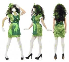 Disfraz Infectada por Agente Biológico para Mujer