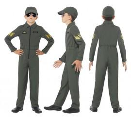 Disfraz Aviador Armada para Niño