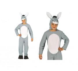 Disfraz de Mula gris para niños