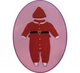Pelele disfraz de Mamá Noel bebé para Navidad