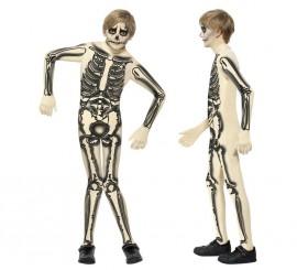 Disfraz Esqueleto Segunda Piel para Niño en varias tallas