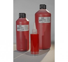 Sangre líquida clara envase de 500 ml.