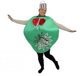 Disfraz de Bola de Árbol de Navidad para adultos