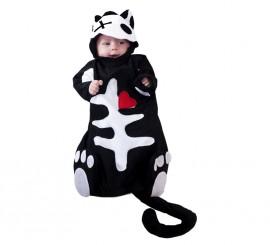 Disfraz o Saquito de Esqueleto para Bebés Varias tallas