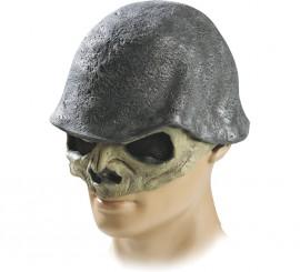 Máscara Casco Calavera de látex para Halloween