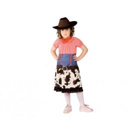 Disfraz de Cowgirl para niñas de 5 a 7 años