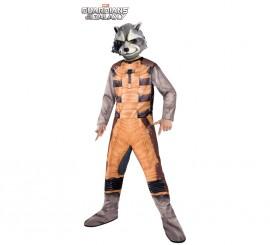 Disfraz Rocket Raccoon Classic para Niño en varias tallas