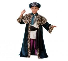 Disfraz Rey Mago Baltasar para niño