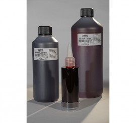 Sangre líquida oscura envase de 1000 ml.