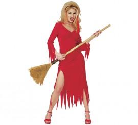 Disfraz de Diablesa Crimson Vixen para Halloween