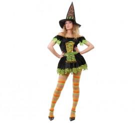 Disfraz de Bruja Sexy para Halloween de mujer