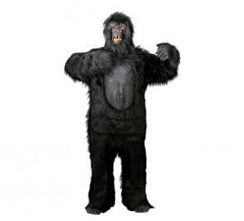 Disfraz de Gorila Negro Extra para adulto Carnaval