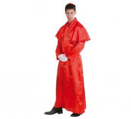 Disfraz de Cardenal rojo para hombre