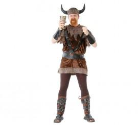 Disfraz barato de Vikingo hombre