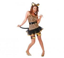 Disfraz de Tigresa sexy para mujer