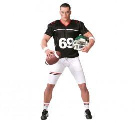 Disfraz de Quarterback para hombre adulto