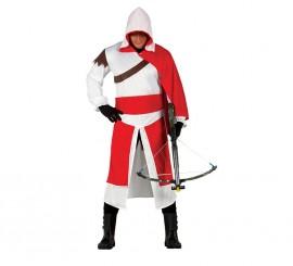 Disfraz de Mercenario Templario para Hombre