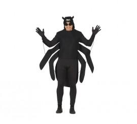 Disfraz de Araña negra para Adultos