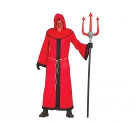 Disfraz para hombre de Demonio rojo para Halloween