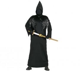 Disfraz de Encapuchado negro para hombre