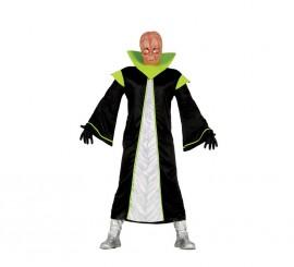 Disfraz para hombres de Alienígena verde