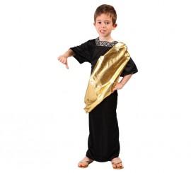 Disfraz de Senador Romano para niños en varias tallas