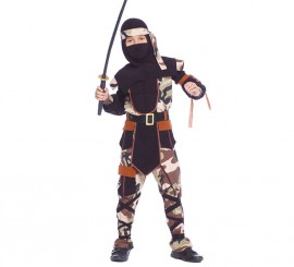Disfraz para niños de Ninja Comando en varias tallas