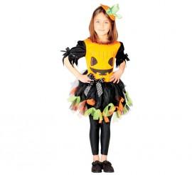 Disfraz de Calabaza simpática para niñas en varias tallas