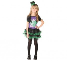 Disfraz de Mini Frankenstein para niñas