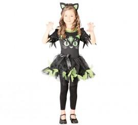 Disfraz de Black Kitty para niñas