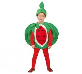 Disfraz de Fruta Sandía para niños