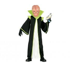 Disfraz para niños de Alienígena verde