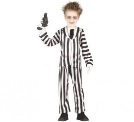 Disfraz de Crazy Ghost para niños
