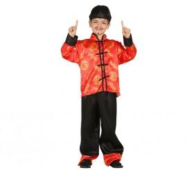 Disfraz de Oriental o Chino para Niños en varias tallas