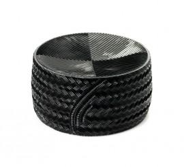Queso Manchego semicurado de plástico de 18.5 cm de diámetro
