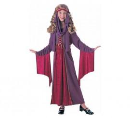 Disfraz de Princesa Gótica para niñas de 3-4 años