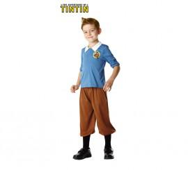 Disfraz de Tintín para niños de 5 a 6 años