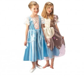 Disfraz Cenicienta Reversible Platinum para niñas en varias tallas