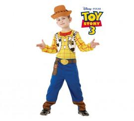 Disfraz Woody de Toy Story en Caja para Niño