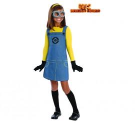 Disfraz de Chica Minion para Niña