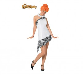 Disfraz de Wilma Flinston Los Picapiedra para mujer