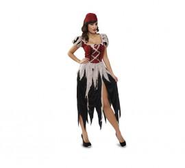 Disfraz de mujer Pirata para mujer talla M-L
