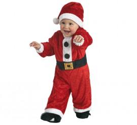 Disfraz de Papa Noel para niños de 1 a 3 años