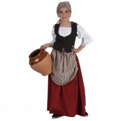Disfraz de Mesonera para niñas en varias tallas
