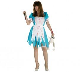 Disfraz de Alicia Asesina para mujer en Halloween