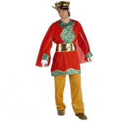 Disfraz de Paje del Rey Gaspar lujo adulto