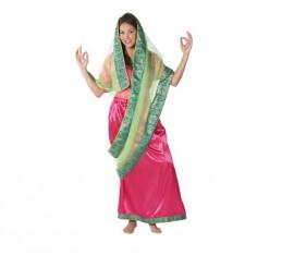 Disfraz de mujer Hindú para chicas