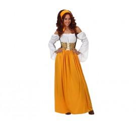 Disfraz de Sirvienta Medieval para mujer