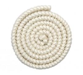 Crepe de lana BLANCO para barbas y postizos