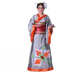 Disfraz de Geisha para niña (varias tallas)